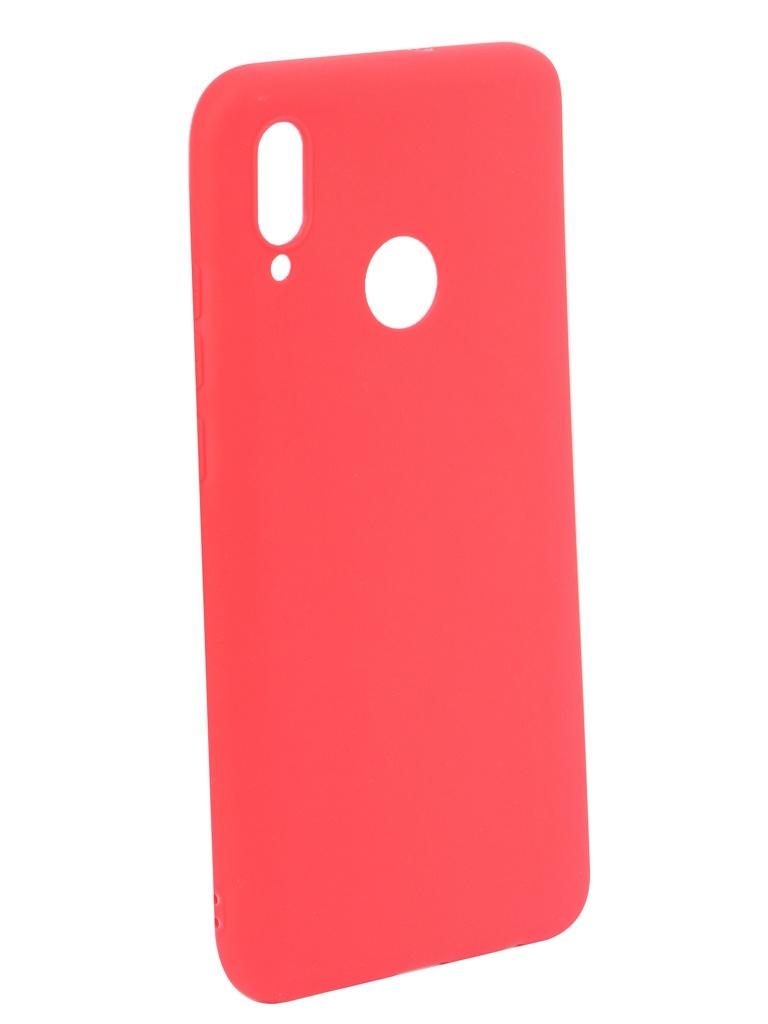 Аксессуар Чехол iBox для Huawei P Smart 2019 Ultimate Red УТ000017294 аксессуар чехол для huawei p20 pro ibox crystal silicone transparent