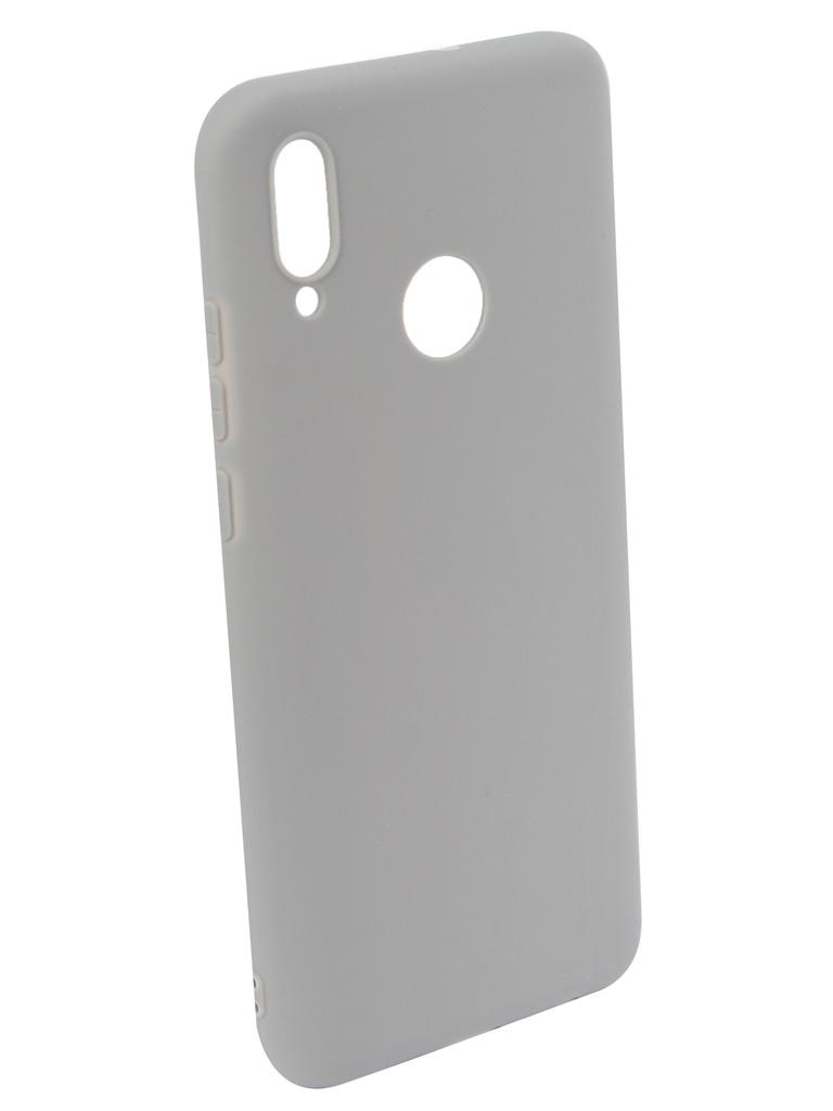 Аксессуар Чехол iBox для Huawei P Smart 2019 Ultimate Grey УТ000017297 аксессуар чехол для huawei p20 pro ibox crystal silicone transparent