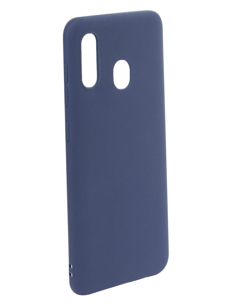 Аксессуар Чехол iBox для Samsung Galaxy A30 Ultimate Blue УТ000017435