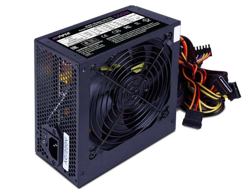 Блок питания HIPER HPB-550 550W Black