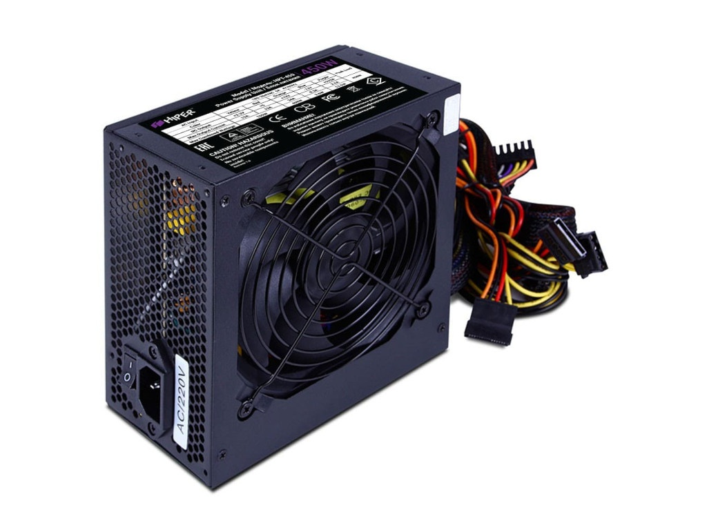 Блок питания HIPER HPT-450 450W Black цена и фото