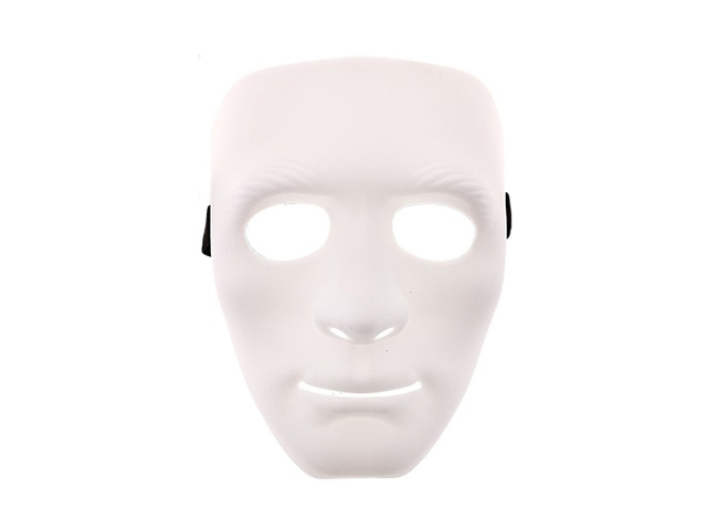 Карнавальная маска СмеХторг Лицо White