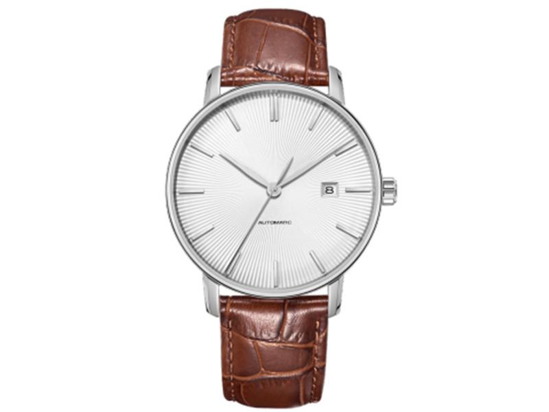 Часы наручные аналоговые Xiaomi Twenty Seventeen Light Mechanical Watch White все цены