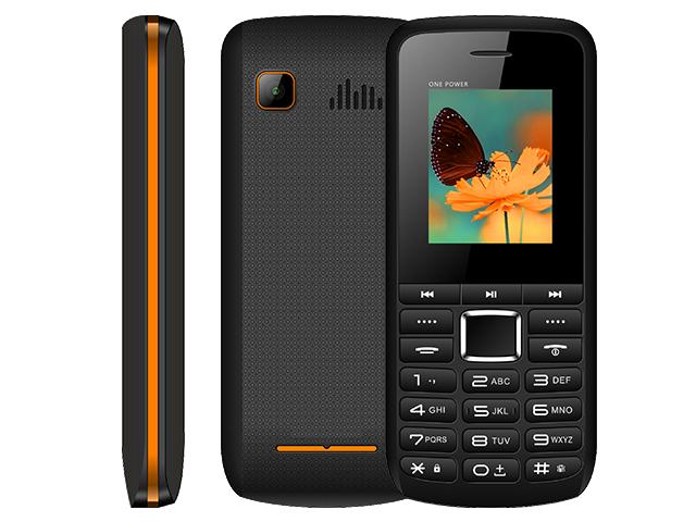 Сотовый телефон BQ 1846 One Power Black-Orange