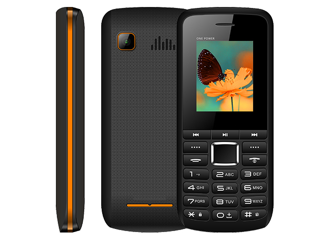 Сотовый телефон BQ 1846 One Power Black-Orange сотовый
