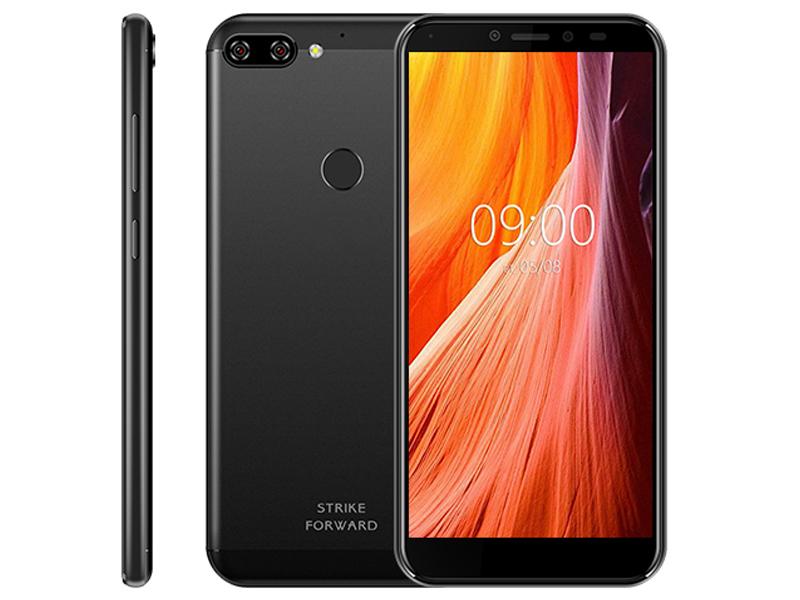 Сотовый телефон BQ 5528L Strike Forward Black bq 5211 strike black смартфон