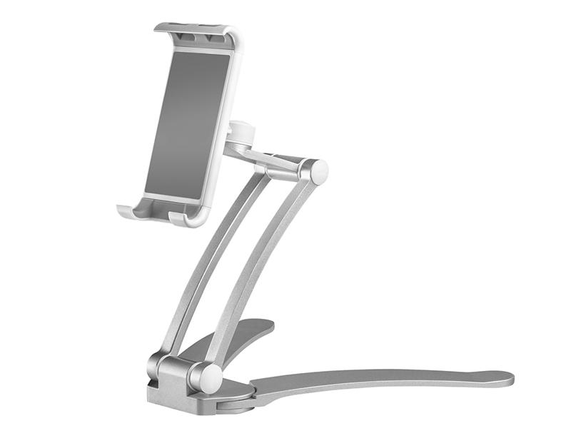 Настольно-настенный держатель для смартфона Onkron DS-01 Silver