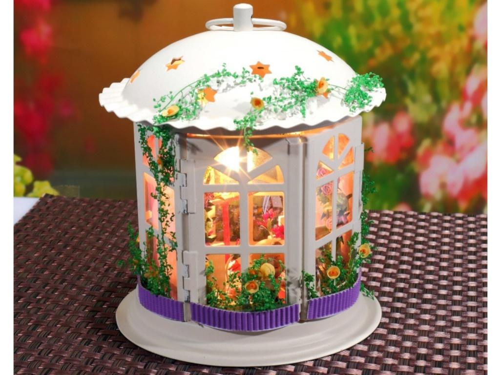 Сборная модель DIY House MiniHouse Свадебный фонарик I003