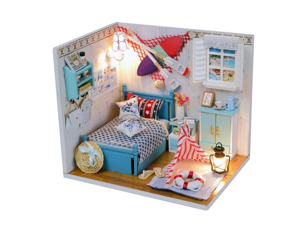 Сборная модель DIY House MiniHouse Греческие каникулы M010