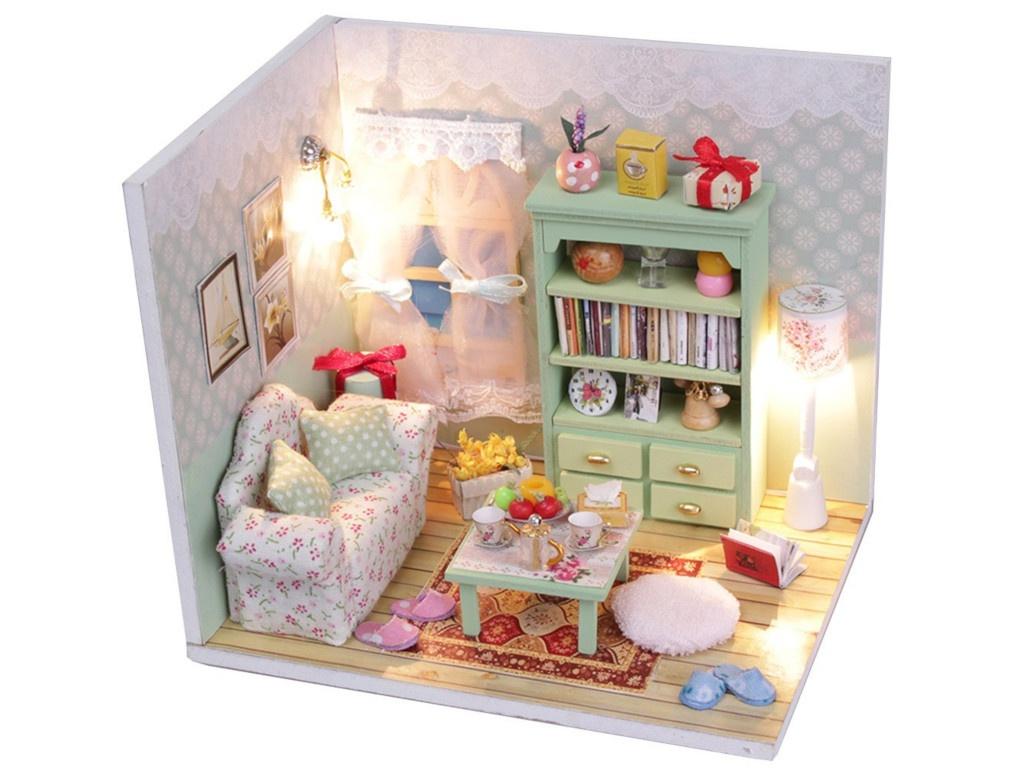 Сборная модель DIY House MiniHouse Чай вдвоём M012