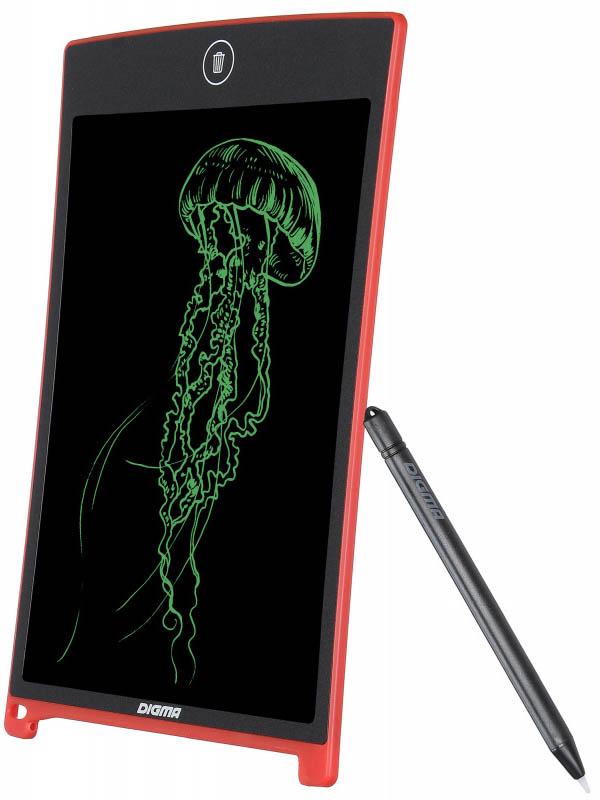 Графический планшет Digma Magic Pad 80 Red MP800R планшет