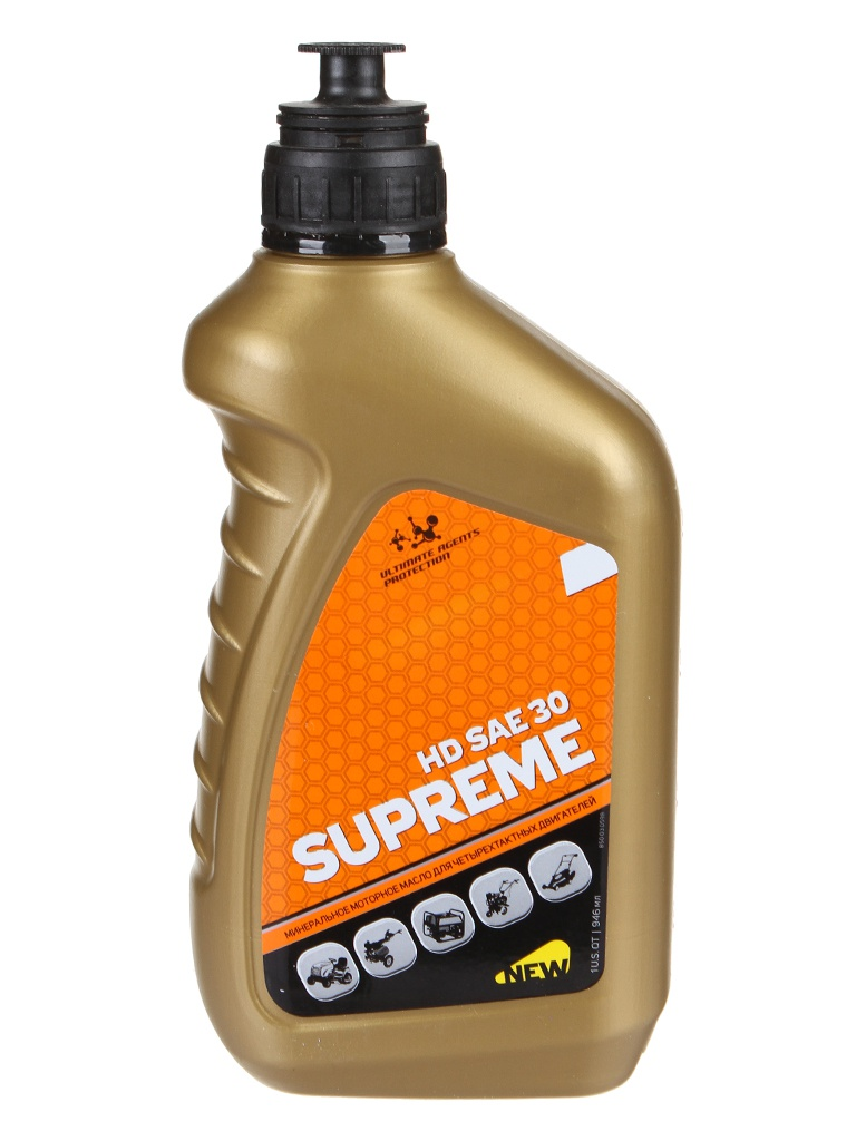 Масло Patriot Supreme HD Sae 30 4Т 946ml 850030598