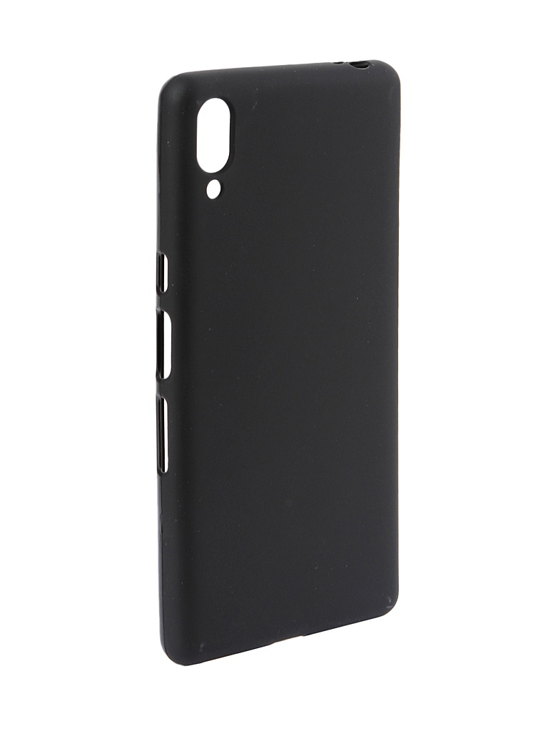 Чехол Zibelino для Sony L3 2019 Soft Matte Black ZSM-SON-L3-BLK