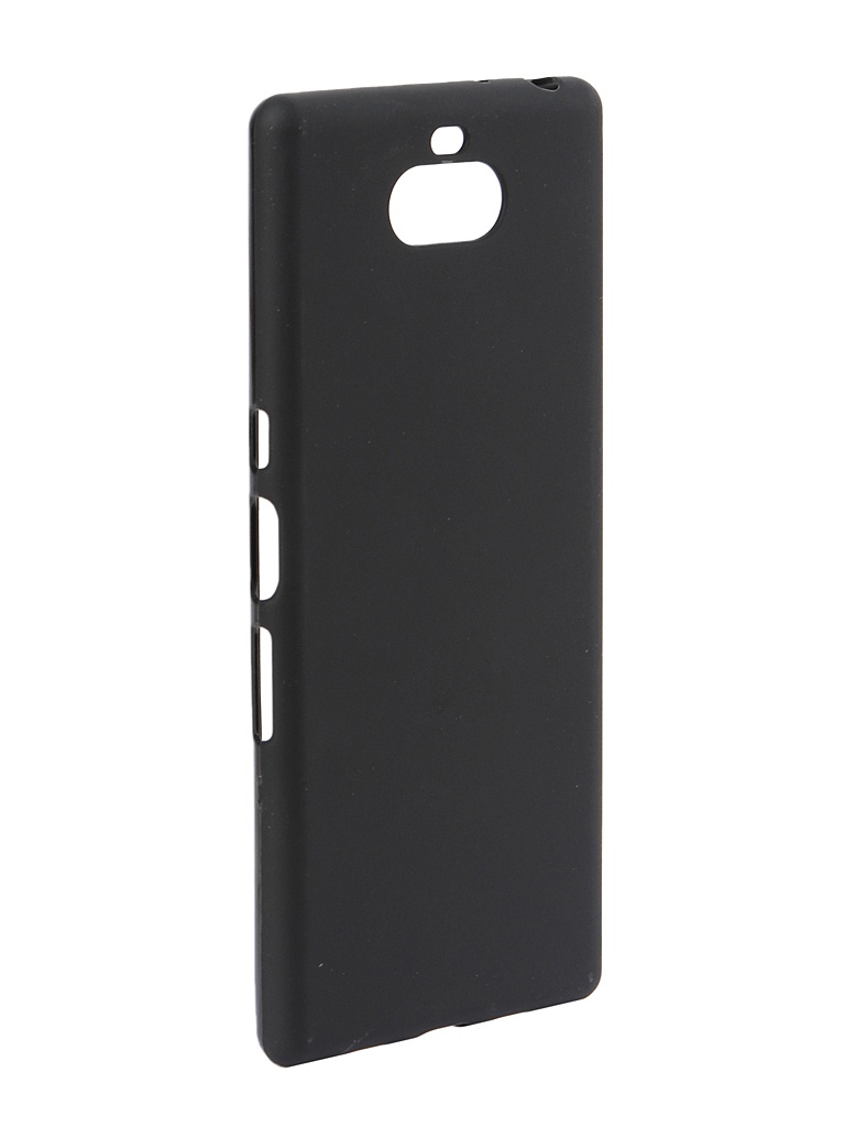 Чехол Zibelino для Sony Xperia 10 Plus 2019 Soft Matte Black ZSM-SON-10-PL-BLK