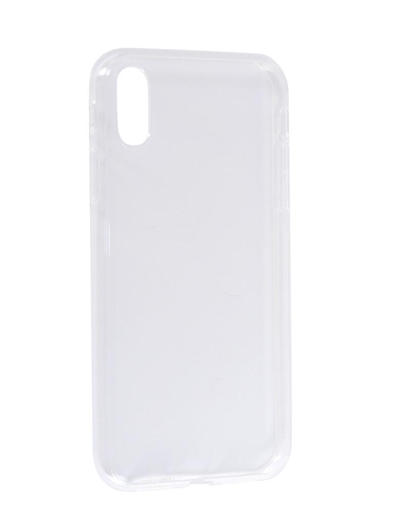 Аксессуар Чехол EVA для Apple iPhone XR Transparent IP8A002T-XR bekker bk 3922 page 6 page 7 page 8