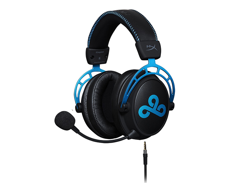 HyperX Cloud Alpha Cloud9 Edition Black-Blue цена и фото