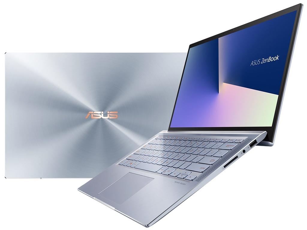 Ноутбук ASUS Zenbook UX431FA-AM022T Blue 90NB0MB3-M00980 (Intel Core i5-8265U 1.6GHz/8192Mb/256Gb SSD/No ODD/Intel HD Graphics/Wi-Fi/Bluetooth/Cam/14/1920x1080/Windows 10 64-bit)