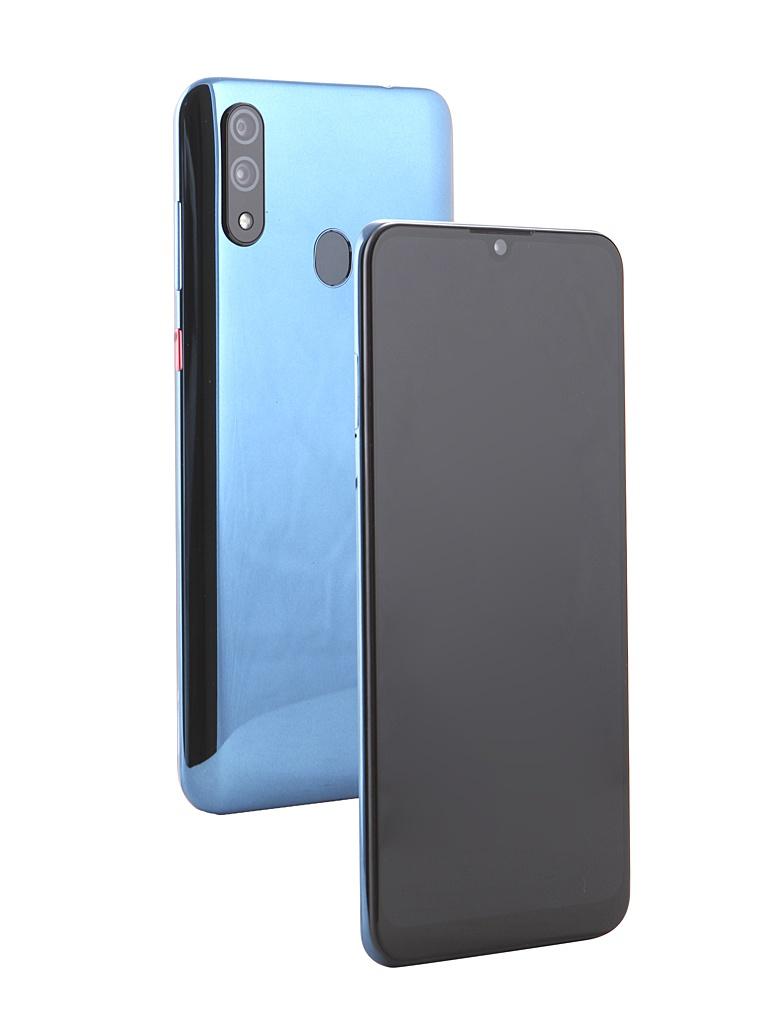 Сотовый телефон ZTE Blade V10 Blue Topaz