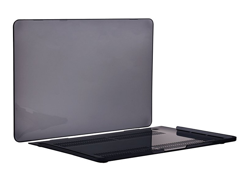 Аксессуар Чехол DF для MacBook Pro 15 Touch bar A1707/A1990 MacCase-04 Black