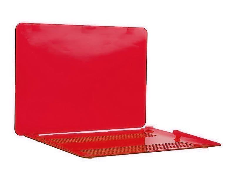 Аксессуар Чехол DF для MacBook Air 2010-2017 MacCase-05 Red