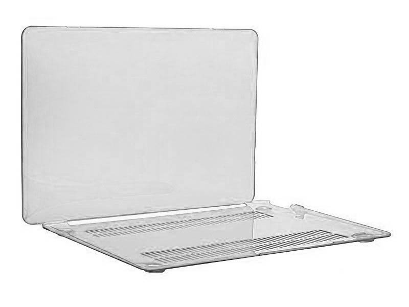 Аксессуар Чехол DF для MacBook Pro 13 Touch bar A1706/A1708/A1989 MacCase-03 Silver