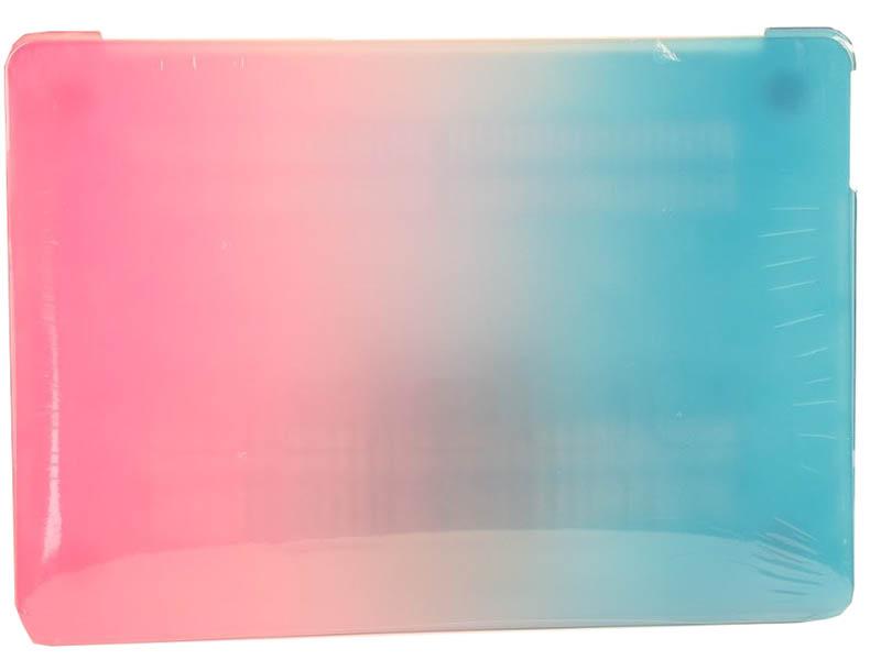 Аксессуар Чехол DF для MacBook Air 2010-2017 Blue-Red MacCase-05