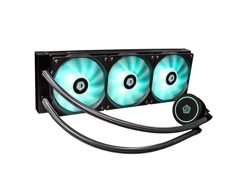 Водяное охлаждение ID-Cooling AuraFlow X 360 RGB водяное охлаждение arctic cooling accelero hybrid iii 140 acacc00020a b