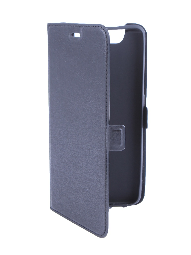 Чехол DF для Samsung Galaxy A80 Black sFlip-45 недорого