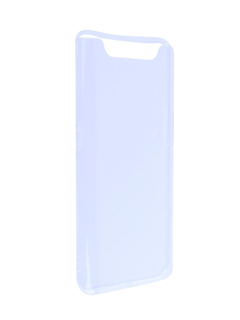 Аксессуар Чехол DF для Samsung Galaxy A80 Silicone Super Slim sCase-79