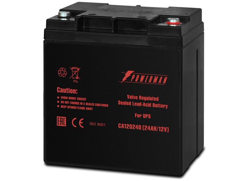 Аккумулятор для ИБП PowerMan CA12240 аккумулятор для ибп ventura gpl 12 120