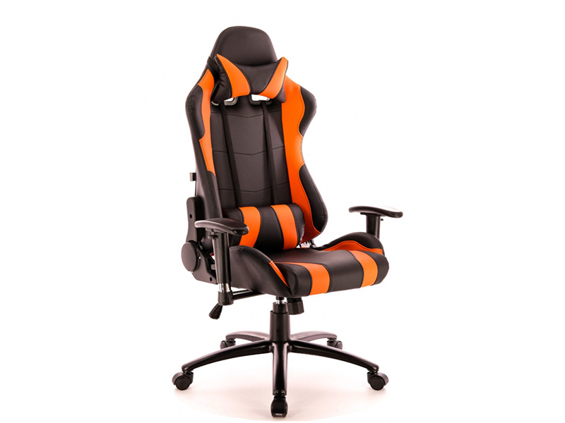 Компьютерное кресло Everprof Lotus S2 Black-Orange