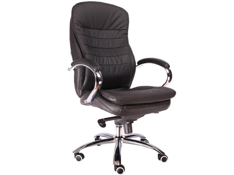 Компьютерное кресло Everprof Valencia M Черная кожа