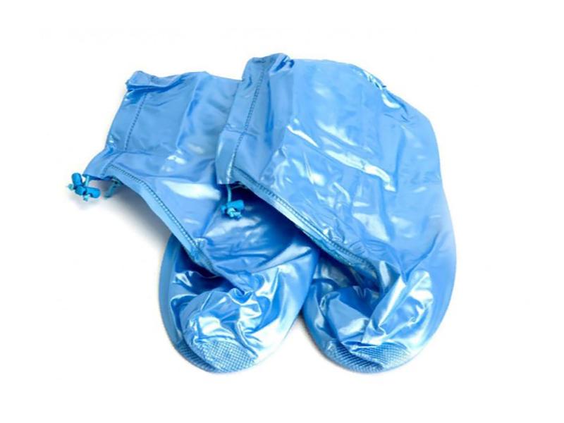 Аксессуар Чехлы грязезащитные для женской обуви Bradex р.M Light Blue KZ 0331