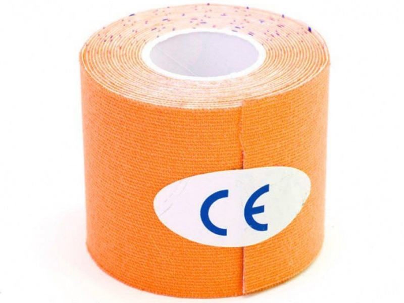 Кинезио лента Bradex Physio Tape 5cm x 5m Orange SF 0191