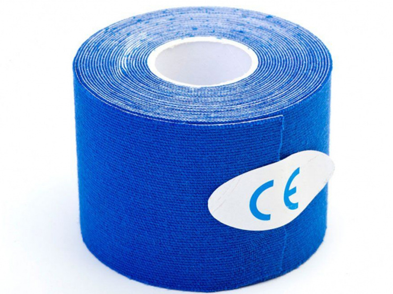 Кинезио лента Bradex Physio Tape 5cm x 5m Blue SF 0188