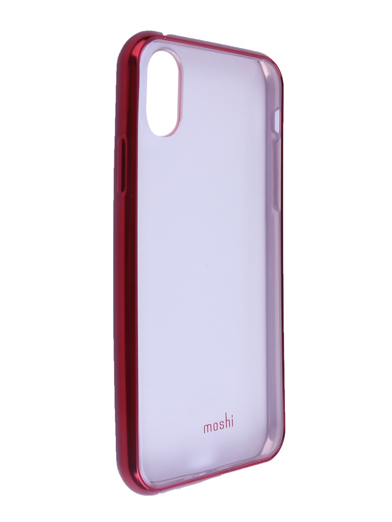 Аксессуар Чехол Moshi для APPLE iPhone X / XS Vitros Crimson Red 99MO103321