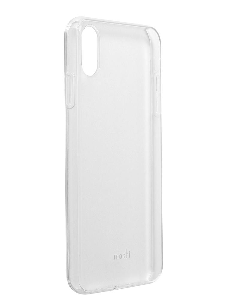 Аксессуар Чехол Moshi для APPLE iPhone XS Max Vitros Clear 99MO103905 аксессуар чехол moshi для apple iphone xs max vesta gray 99mo116012