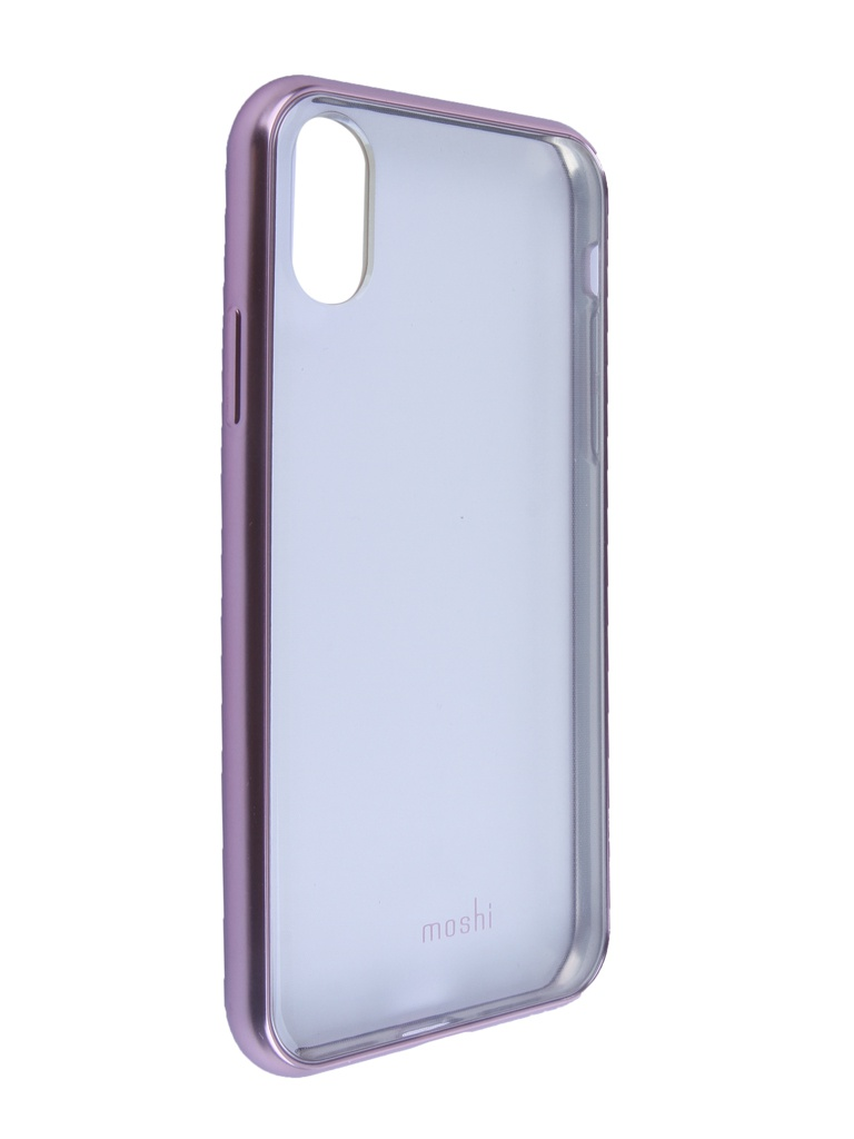 Аксессуар Чехол Moshi для APPLE iPhone X / XS Vitros Orchid Pink 99MO103251