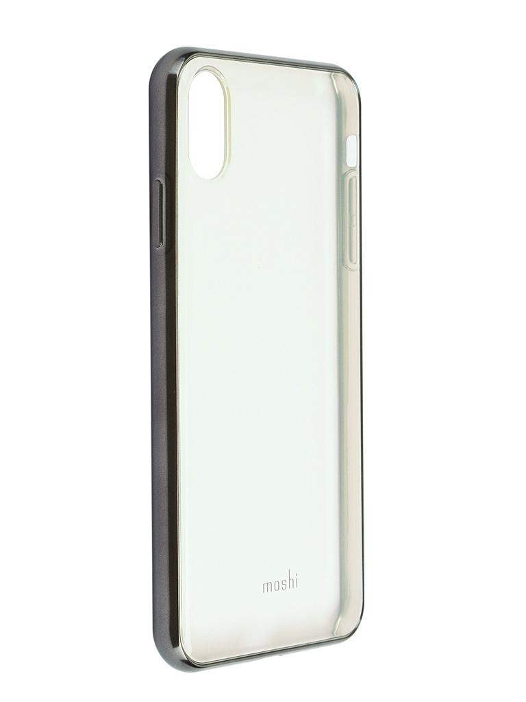 Аксессуар Чехол Moshi для APPLE iPhone XS Max Vitros Black 99MO103035 цена и фото