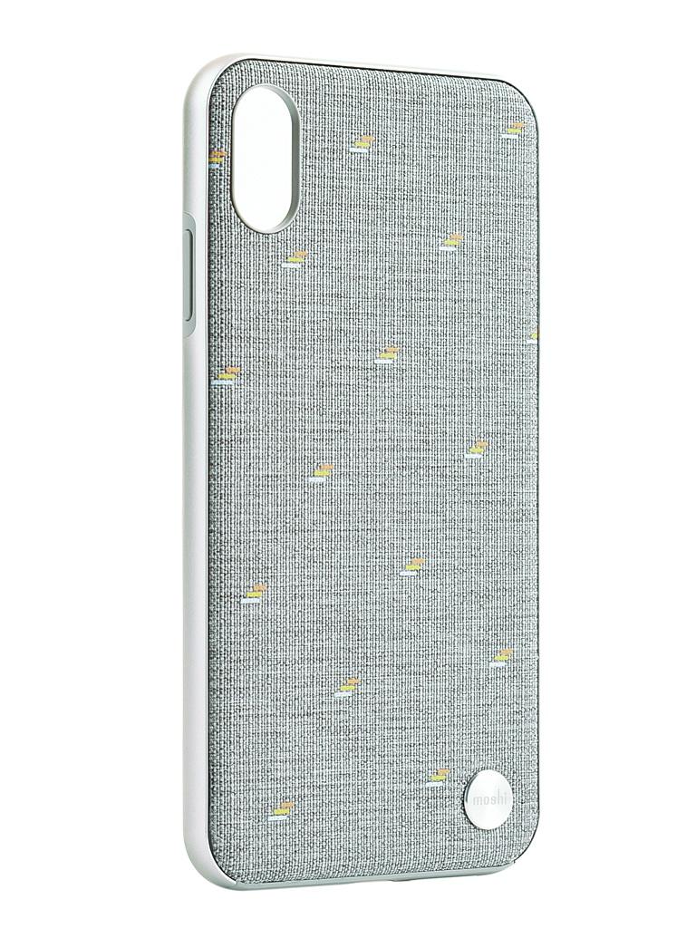 Аксессуар Чехол Moshi для APPLE iPhone XS Max Vesta Gray 99MO116012