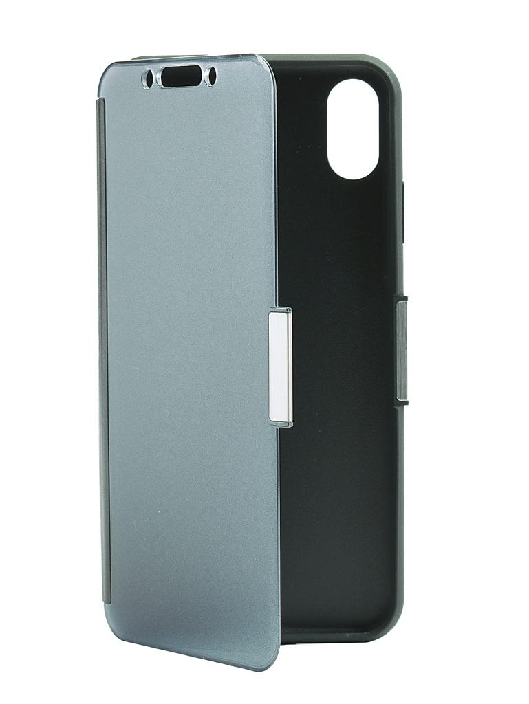 Аксессуар Чехол Moshi для APPLE iPhone XS Max StealthCover Gray 99MO102023 чехол книжка moshi stealthcover для iphone xs max пластик полиуретан розовый 99м0102303