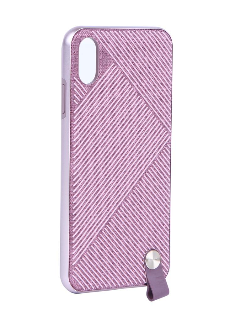 Аксессуар Чехол Moshi для APPLE iPhone XS Max Altra Pink 99MO117302