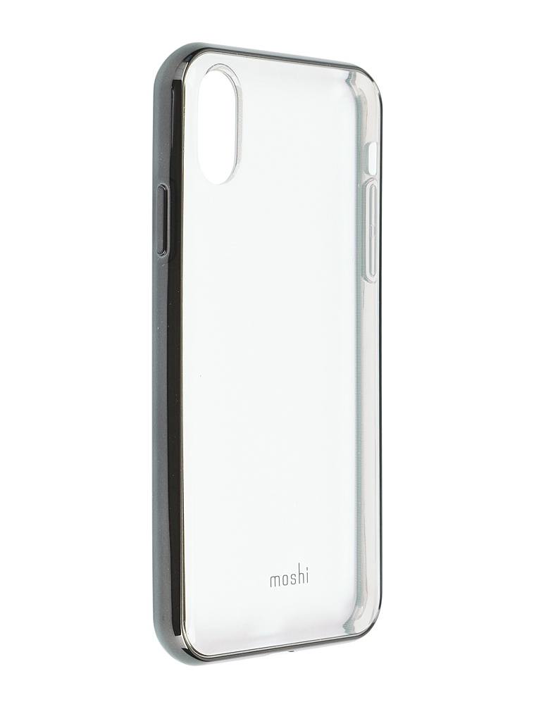 Аксессуар Чехол Moshi для iPhone XR Vitros Black 99MO103034 аксессуар чехол moshi для apple iphone 11 vitros black 99mo103037