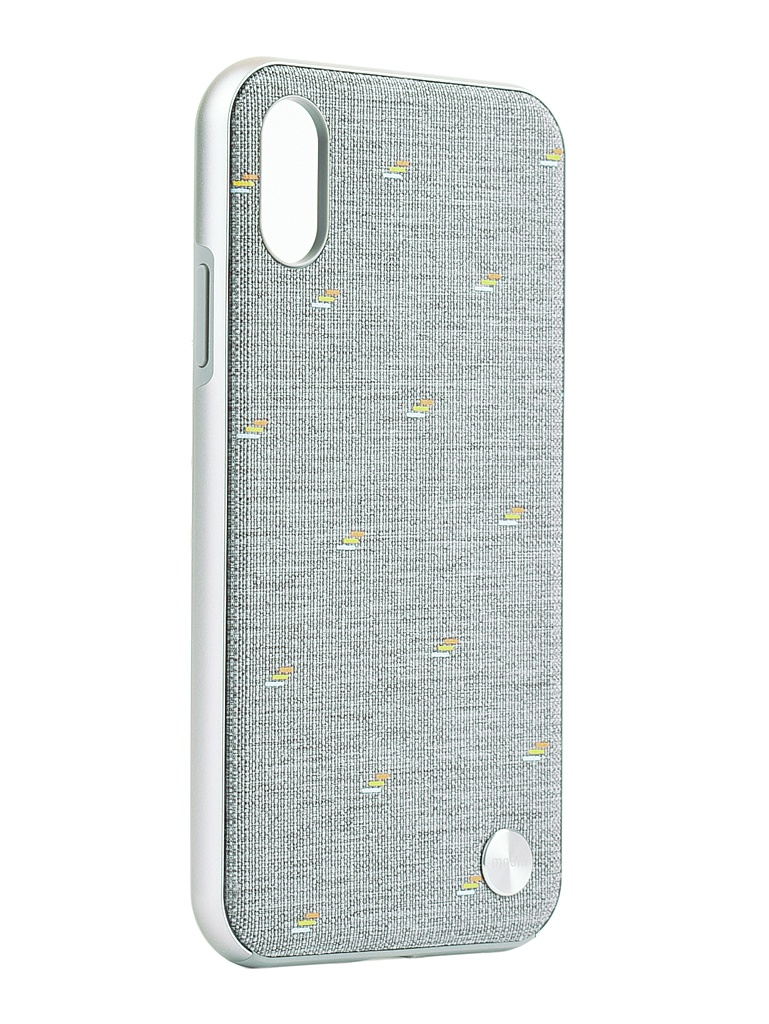 Аксессуар Чехол Moshi для iPhone XR Vesta Gray 99MO116011 аккумулятор moshi ionbank 5k lightning 5150mah gunmetal gray 99mo022123