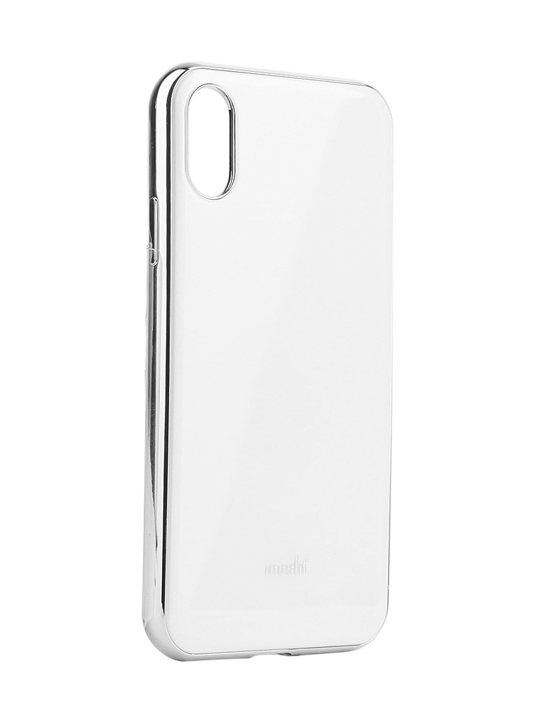 Фото - Аксессуар Чехол Moshi для iPhone XR iGlaze White 99MO113101 аксессуар