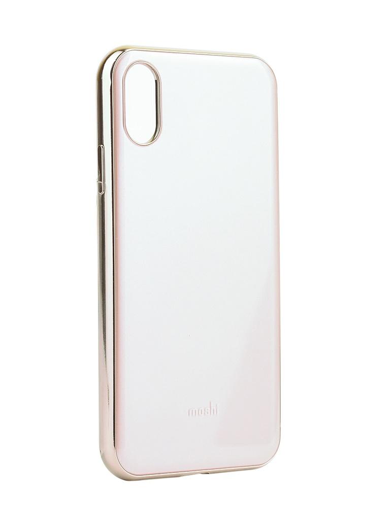 Аксессуар Чехол Moshi для iPhone XR iGlaze Pink 99MO113301 клип кейс moshi iglaze для apple iphone xr красный