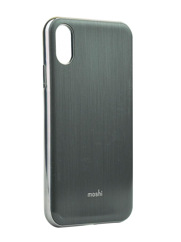 Фото - Аксессуар Чехол Moshi для iPhone XR iGlaze Black 99MO113001 аксессуар