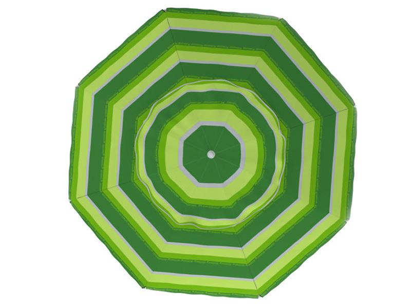 Пляжный зонт Zagorod Z 300 Green Z300-068-00