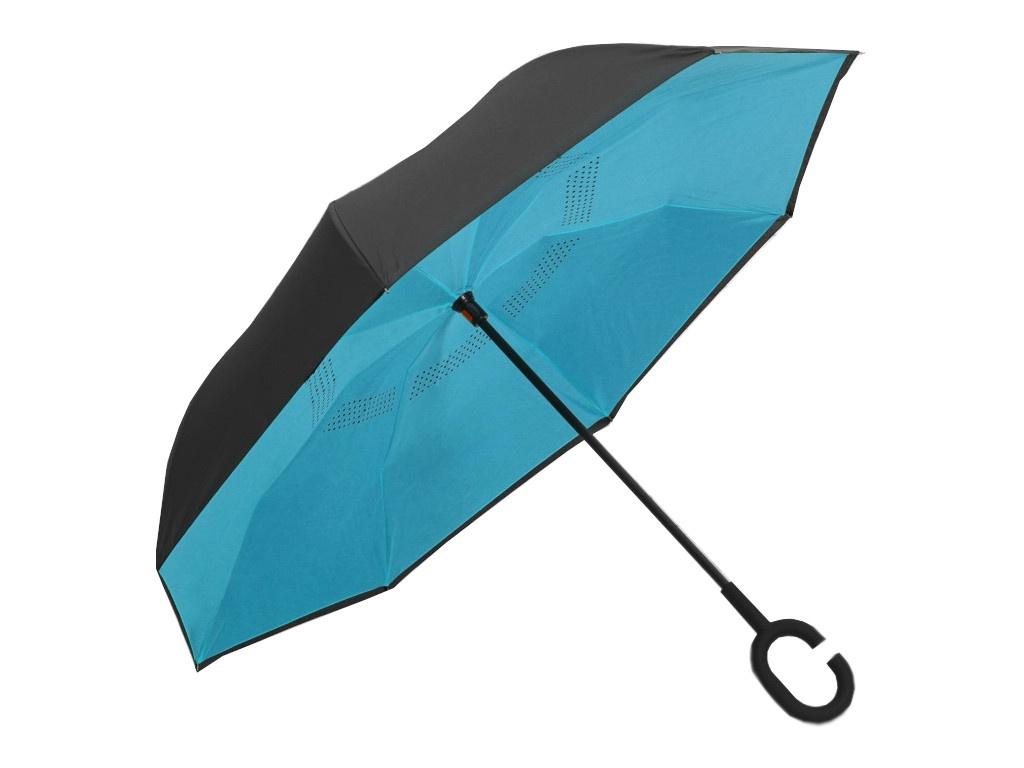 Зонт СИМА-ЛЕНД Однотонный Light Blue-Black 2825913