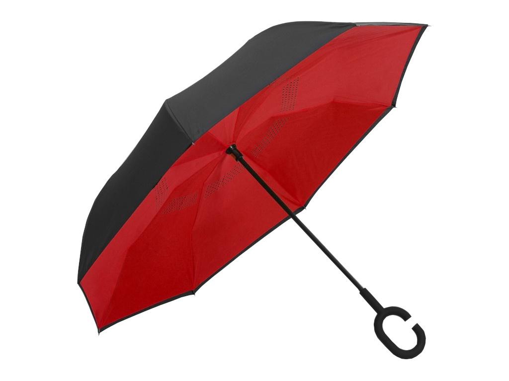 Зонт СИМА-ЛЕНД Однотонный Red-Black 2825909